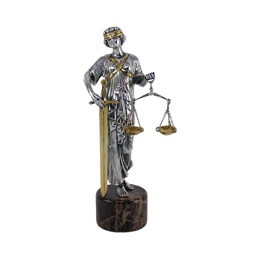 Подарок фемида статуэтка